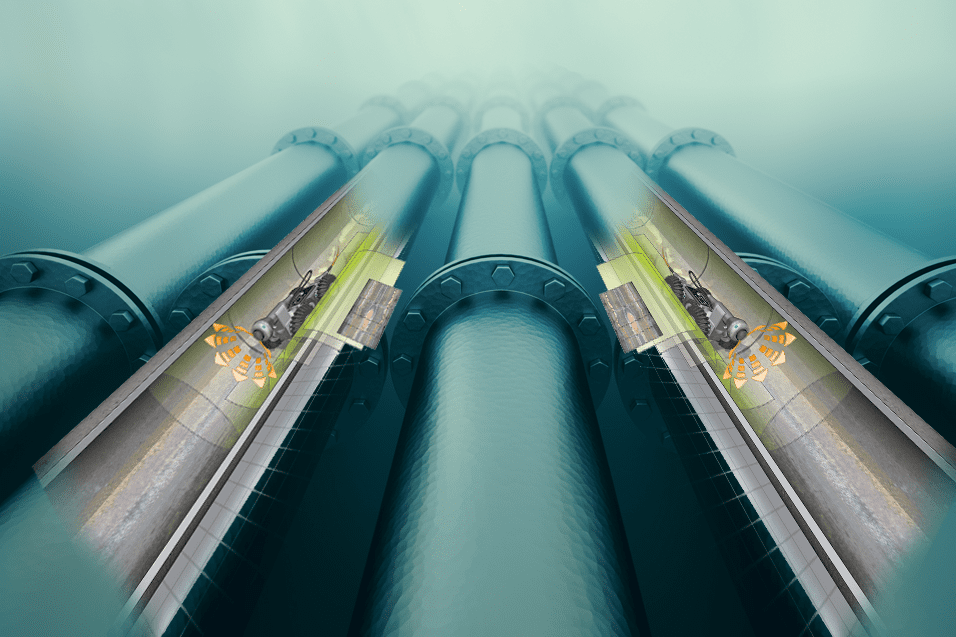 High-speed Robotic Scanner for Pipe Testing
