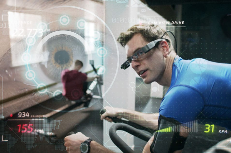 Augmented Reality Smart Glasses for Fitness & Training