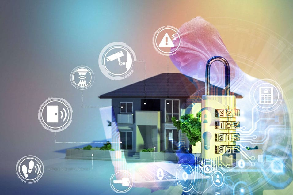 Full-stack Development of an IoT Home Security Solution