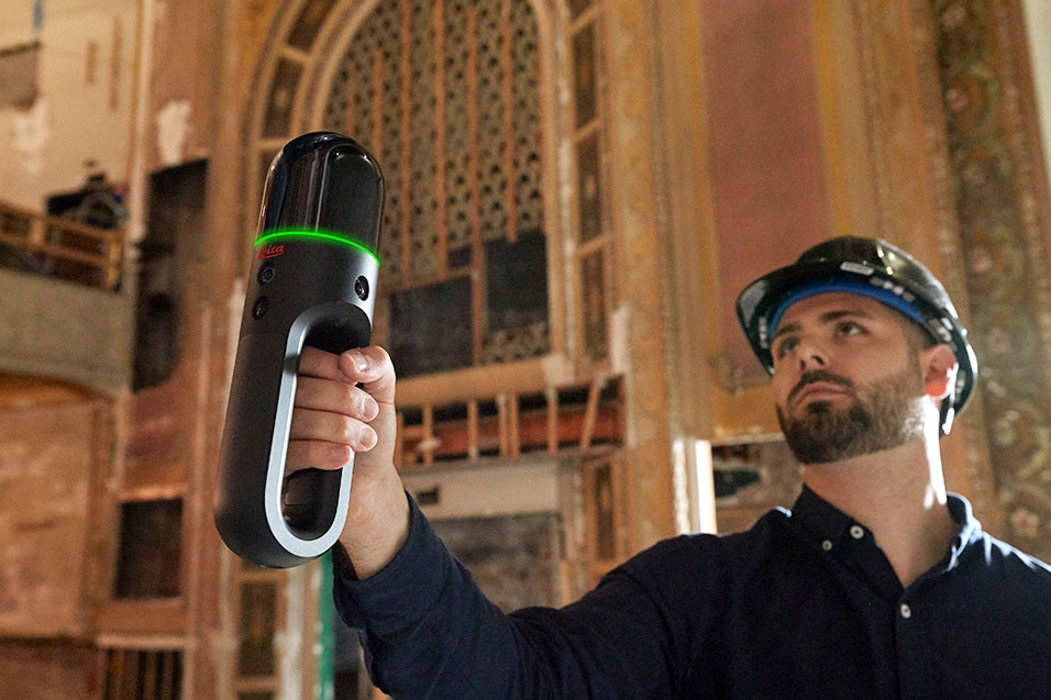 Wireless Handheld Imaging Laser Scanner