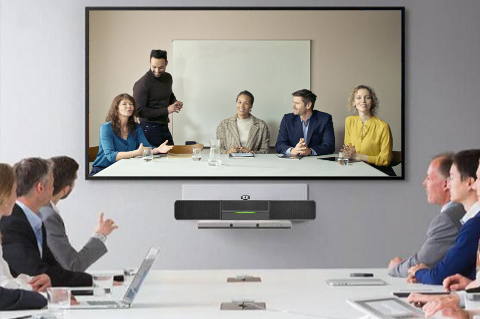 Intelligent Video Conferencing Soundbar