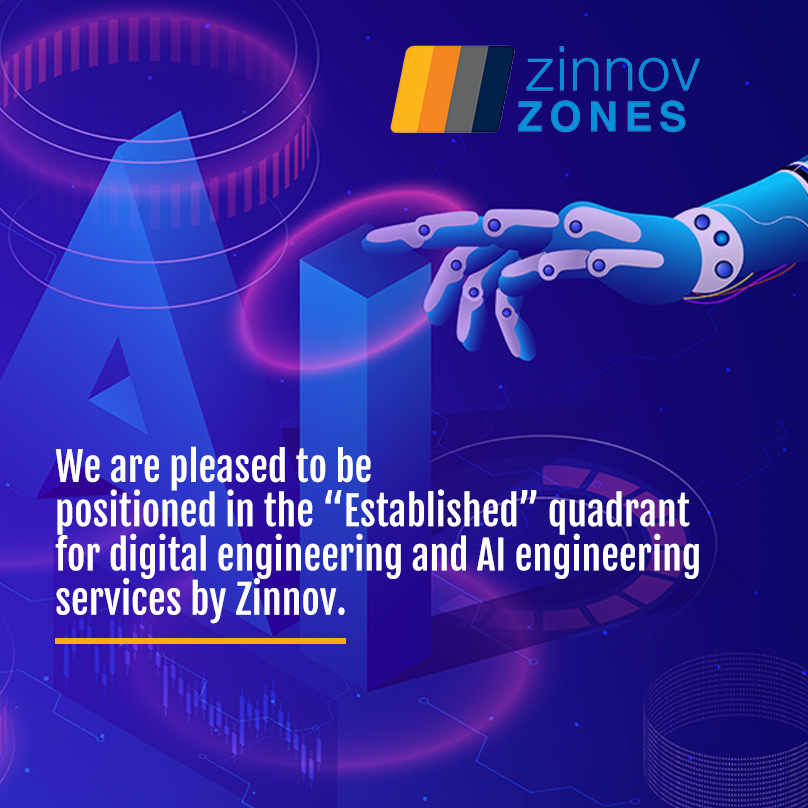 The latest Zinnov Zones Global ER&D services 2020 report recognizes eInfochips' expertise in digital and new-age engineering capabilities.